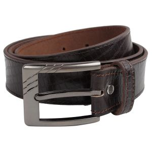 Buy Exotique Men's Brown Casual Belt online