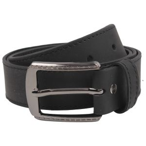 Buy Exotique Men's Black Casual Belt online
