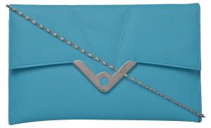 Buy Exotique Women's Blue Casual Clutch (cw0015bl) online