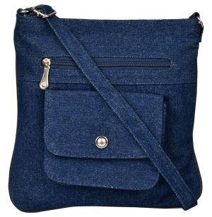 Buy Exotique Women s Blue Sling Bag ( Code-cw00022bl) Online  85d55a6e2