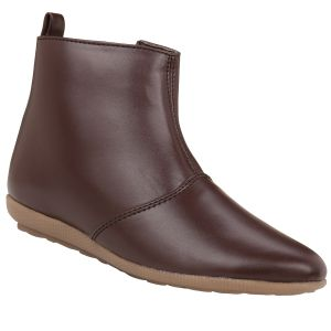 Buy Exotique Women's Brown Casual Boot online