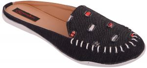 Buy Exotique Women's Black Casual Slip-on(el0039bk) online