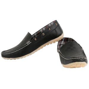 d38bad7c440 Buy Exotique Splendid Black Loafer Shoes Online