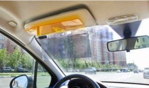 Buy HD Vision Visor Day Night Vision Flip Down Visor For Car Easy Sun Glare  Block 02c39976ca4