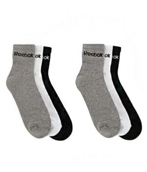 Buy Reebok Multicolour Cotton Socks Pair Of 6 online