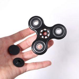Buy Hand Fidget Spinner Toy - Black By Flintstop online