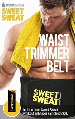 Buy Hot Shaper Slimming Sweat Belt Fat Burner Neoprene Belt online