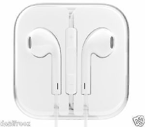Buy Earphones Earpods Remote And Mic Handsfree Headphones For Apple iPhone 5 5s online