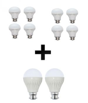 Buy Vizio Combo Of 10 W LED Bulbs(set Of 4) , 15 W LED Bulbs(set Of 4) , 20 W online