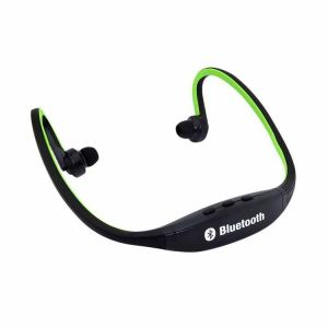 Buy Futaba Sports Wireless Bluetooth Green V3.0 High Quality Stereo Music Headsets With Mic Calling For Smart Phones online