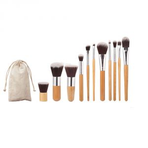 Buy Aeoss 1pc Eyebrow Comb Brush 11 PCs Cosmetic Makeup Brushes Set Kit Make Up Tool online