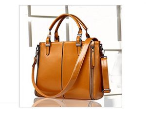 c2fb463a99e Buy Aeoss Womens Girls Large Size Handbags For Office Professional Shoulder  Messenger Sling Pu Bag online