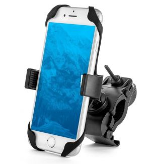 Buy Aeoss Bike Phone Mount, Universal - For Motorcycle - Bike | Holds Phones online