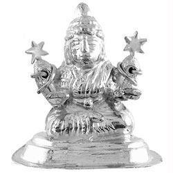 Silver Lakshmi Idol