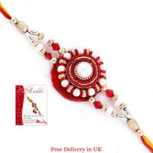 Buy Designer Rakhi For United Kingdom online