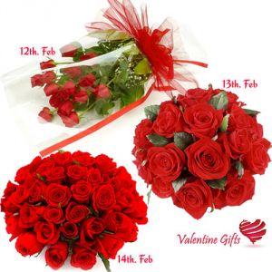 Buy Valentine Gifts - Red Roses Serenade online
