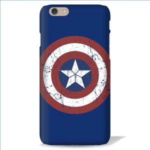 Buy Leo Power Captain America Sheild Printed Case Cover For Apple iPhone 4 online
