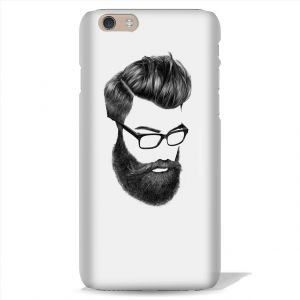 Buy Leo Power Beard Man Printed Case Cover For Apple iPhone 6 online