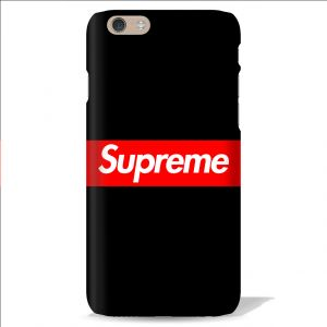 Buy Leo Power Supreme Black Background Printed Case Cover For Apple iPhone 5 online