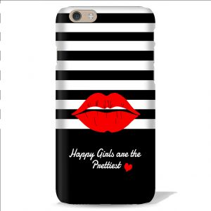 Buy Leo Power Happy Girls Are The Prettiest Printed Case Cover For Apple iPhone 4 online