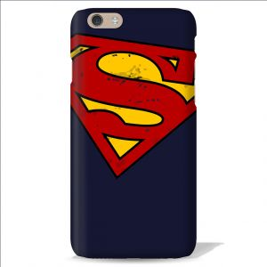 Buy Leo Power Superman Logo Printed Case Cover For Apple iPhone 4 online