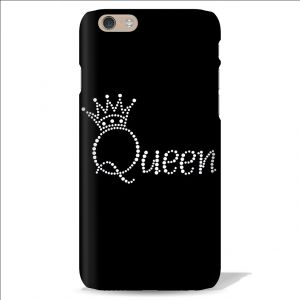 Buy Leo Power Beautiful Queen Crown Printed Case Cover For Apple iPhone 6 online
