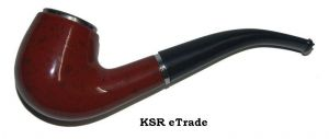 Buy Classic Durable Smoking Pipe Wooden Smoke Accessory online