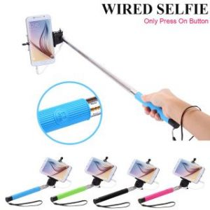 Selfie Stick With Aux Cable 3.5 MM Jack