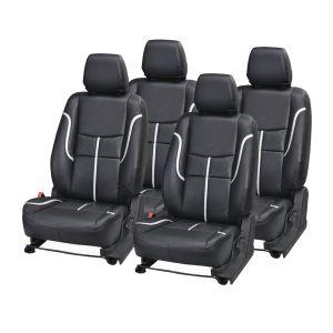 Buy Pegasus Premium I10 Car Seat Cover - (code - I10_black_silver_prime) online