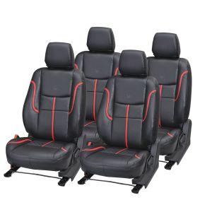 Buy Pegasus Premium Innova Car Seat Cover - (code - Innova_black_red_prime) online