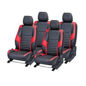 Buy Pegasus Premium Innova Car Seat Cover - (code - Innova_black_red_comfert) online