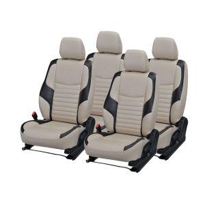 Buy Pegasus Premium Verna Fluidic Car Seat Cover - (code - Vernafluidic_beige_black_comfert) online