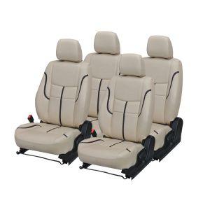 Buy Pegasus Premium Amaze Car Seat Cover - (code - Amaze_beige_black_prime) online