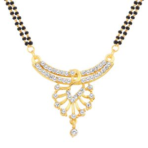 Buy Shostopper Peacock Gold Plated Mangalsutra Pendant online