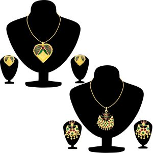 Buy Shostopper Meenakari Collection Combo Pack Of Two online
