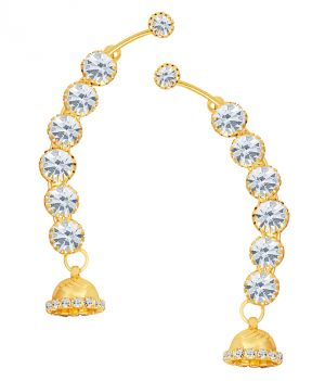 Buy Shostopper Brilliant Gold Plated Australian Diamond Earcuff online