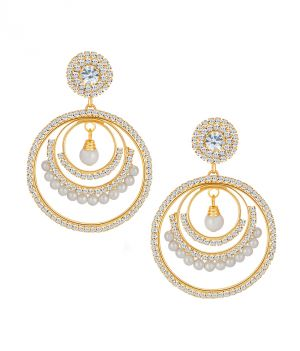 Buy Shostopper Sublime Gold Plated Australian Diamond Earring online