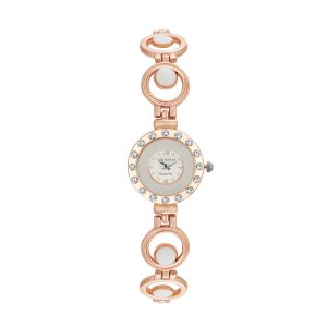 Buy Shostopper Designer White Dial Analogue Watch For Women online