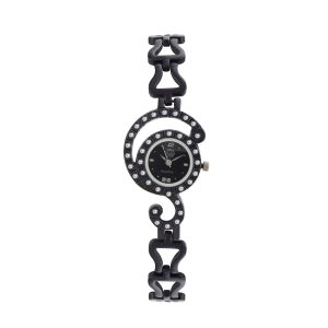 Buy Shostopper Antique Black Dial Analogue Watch For Women online
