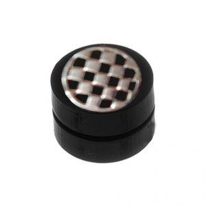 Buy Men Style Black Designer Fashion Magnetic Earring - Er11030 online