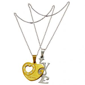 Buy Anniversary Gift Ideas for Her And His Romantic Couple Magnetic Pendant online