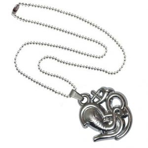 Men Style Loard Shree Ganesh Popular Om SPn09072 Silver Alloy Pendant For Men And Women (Product Code - SPn09072)