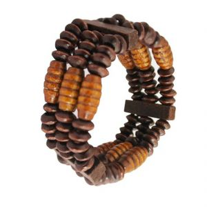Buy Men Style Wood Fashion Bracelet online