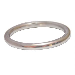Men Style Elegant Punjabi Pure Sikh (2-12 Inch Diameter)  Silver  Stainless Steel Round Kada For Men And Boys