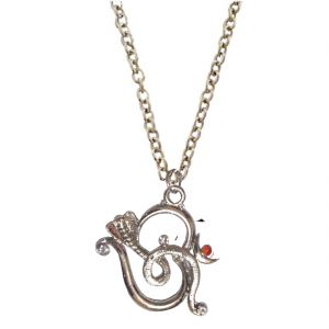 Buy Men Style New Design Cobra Om Silver Alloy Snake Pendent For Men And Boys online