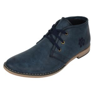Buy Molessi Mens Formal Blue Casual Shoe online