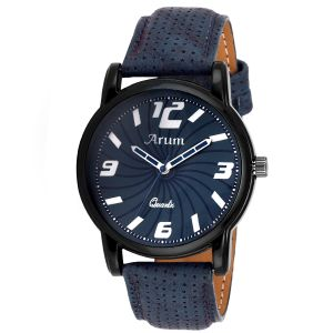 Buy Arum Latest Blue Trendy Watch online