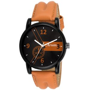 Buy Arum Latest Stylish Brown Trendy Watch online
