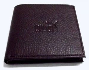 Buy PE Mens Fashionable Brown PU Leather Wallet online