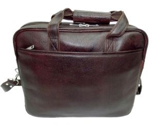 Buy Pe 15 Inch 100% Genuine Leather Laptop Messenger Bag online